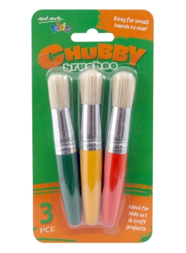 Picture of Mont Marte Chubby Brushes Set Of 3