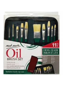 Picture of Mont Marte Oil Brush Set Of 11