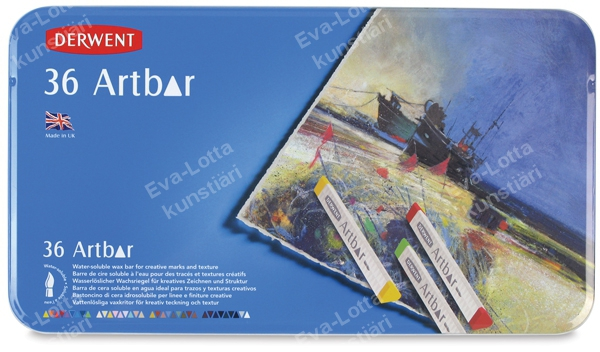 Picture of Derwent Artbar Tin of 36