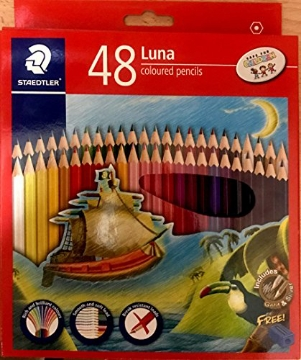 Picture of STAEDTLER Luna Coloured Pencils Pack of 48 ( For Student)