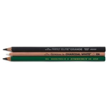 Picture of General's Black & White Pencil Set of 3