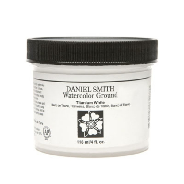 Picture of Daniel Smith Watercolour Ground Titanuim White - 118ml