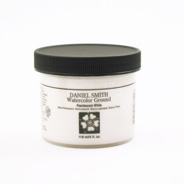 Picture of Daniel Smith Watercolour Ground Pearlescent White - 118ml