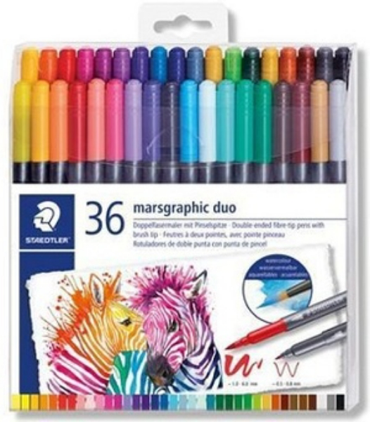 Picture of Staedtler Marsgraphic Duo Set of 36