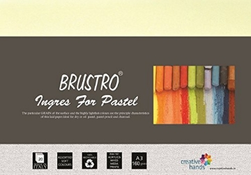 Picture of Brustro Ingres Pastel Paper 160gsm A3 (20 Sheets)