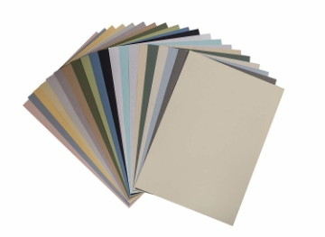Picture of Brustro Pastel Assorted-Soft Paper 160gsm A3 (20 Sheets)