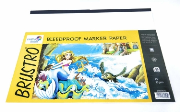 Picture of Brustro Bleedproof Marker Paper A3 70gsm (50 Sheets)