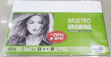 Picture of Brustro Drawing Paper 200gsm A3 ( 5+1 Sheets)