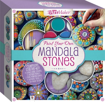 Picture of Art Maker-Paint your Own Mandala Stones
