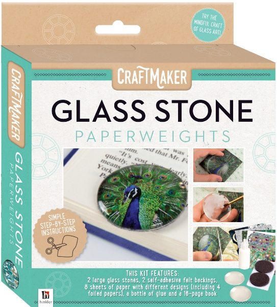 Picture of Craftmaker Glass Stone Paperweight Kit