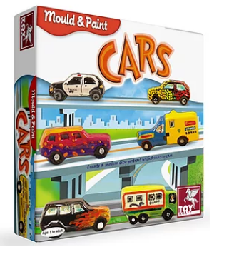 Picture of Toy Kraft Mould & Paint - Cars