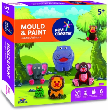 Picture of Mould & Paint Jungle Animals