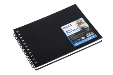 Picture of Brustro Artist WC Journal Pad 300gsm A5 (20 Sheets)
