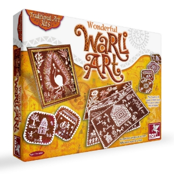 Picture of Toy Kraft Wonderful Warli Art Kit