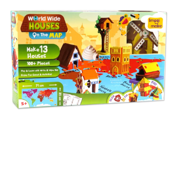 Picture of Imagi Make World Wide Houses On the Map Kit