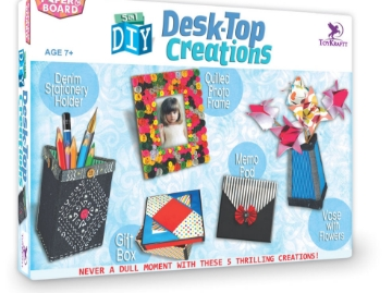 Picture of Toykraft Desk-Top Creations 5 in 1 DIY