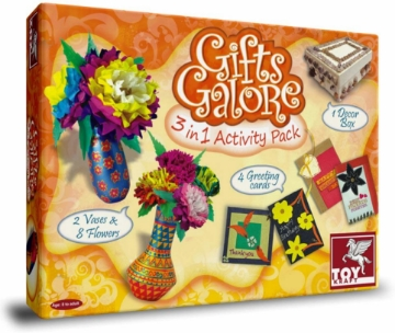 Picture of Toy Kraft Gifts Galore 3 in 1 Activity Pack