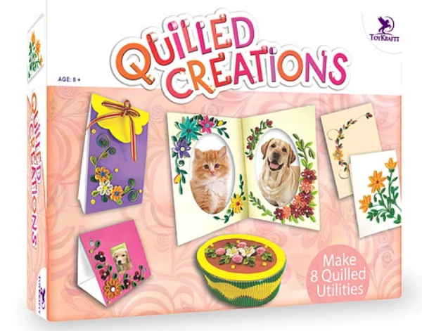 Picture of Toy Kraft Quilled Creations Kit