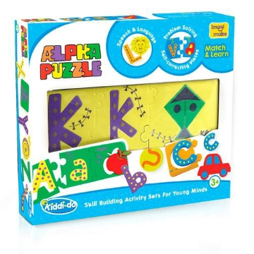 Picture of Imagi Make Kiddi-do Alpha Puzzle Kit