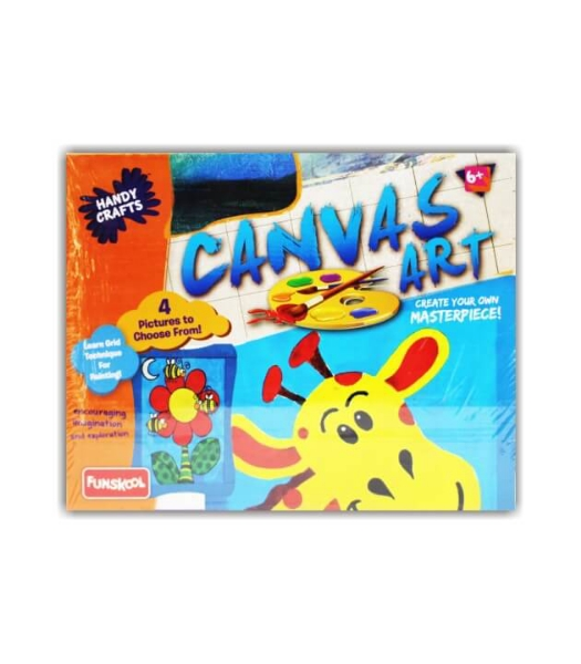 Picture of Funskool Handy Craft Canvas Art  Kit