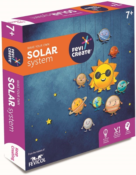 Picture of Fevicol Make Your Solar System Kit