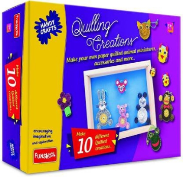 Picture of Funskool Handy Crafts Quilling Creations Kit