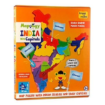 Picture of Imagi Make Mapology India With Capitals Kit