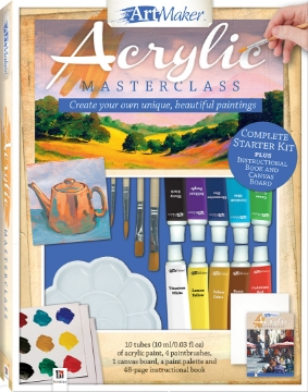 Picture of Art Maker Acrylic  Masterclass