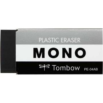 Picture of Tombow Mono Plastic Eraser Black (PE-04AB)