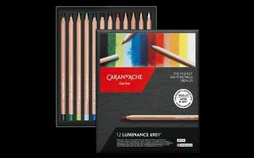 Picture of Caran Dache Luminance Colour Pencil Set of 12