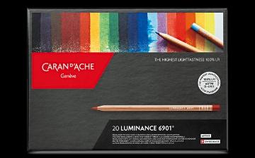 Picture of Caran Dache Luminance Colour Pencil Set of 20