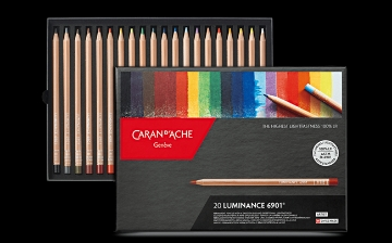 Picture of Caran Dache Luminance Colour Pencil Set of 20