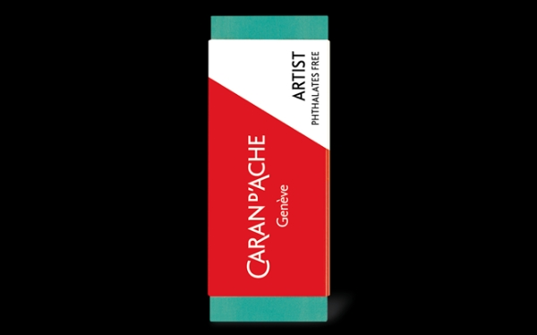 Picture of Caran Dache Graphite & Charcoal Extra Soft Plastic Eraser (Artist)