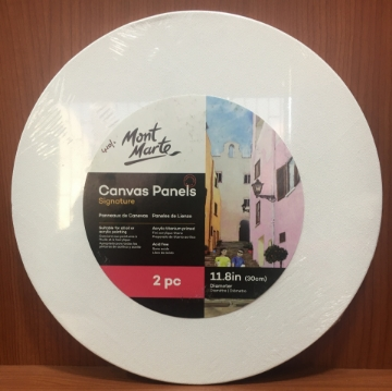 Picture of Mont Marte Canvas Panels Set of 2 (30 cm) 11.8""