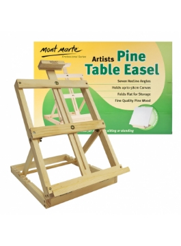 Picture of Mont Marte Artists Pine Table Easel