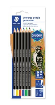 Picture of Staedtler  permenent Colour pencils Pack of 6