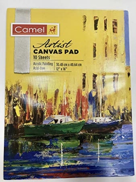 Picture of Camel Canvas Pad 25.40X30.48cm (10x12)