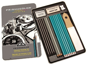 Picture of Prismacolor Premier Graphite Drawing Set of 18