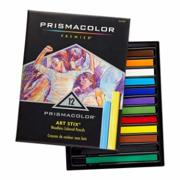Picture of Prismacolor Premier Art Stix Woodless Colored Pencils Set of 12