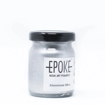 Picture of EPOKE Resin Pigment Aluminium silver 75g (metallic)