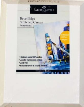 Picture of Faber Castell Bevel Edge Streched Canvas