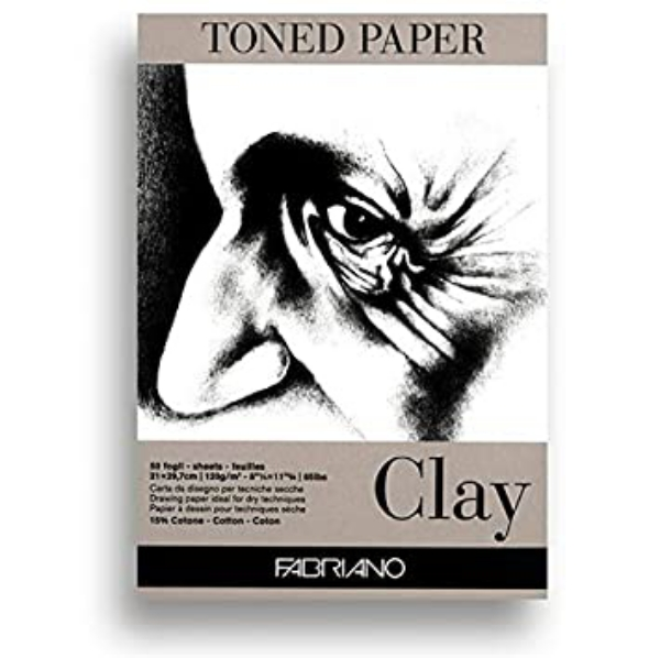 Picture of Fabriano toned paper pad A3 (CLAY)