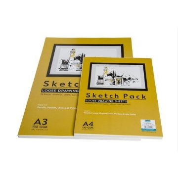 Picture of Scholar A4 130gsm Drawing Sheets Pack of 50
