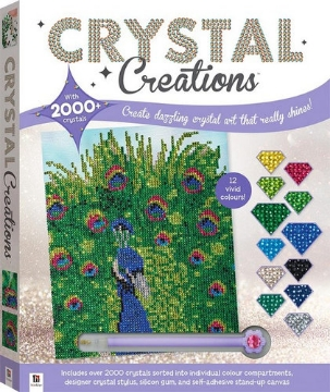 Picture of Hinkler Crystal Creations Peacock