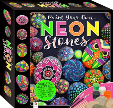 Picture of Hinkler Paint Your Own Neon Stones
