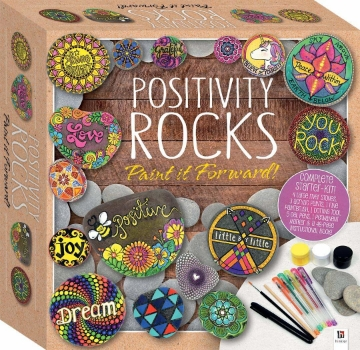 Picture of Hinkler Postivity Rocks Paint it Forward