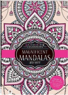Picture of HinklerKaleidoscope Colouring Magnificant Mandalas