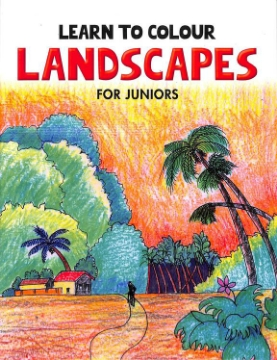 Picture of Learn to Colour Landscape for Junior (Light Brown)
