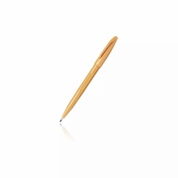 Picture of Pentel Sign Pen Fiber Tipped 2mm -Yellow Ochre