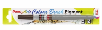 Picture of Pentel Arts Colour Brush Pigment -Sepia